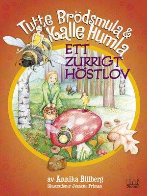 cover image of Ett zurrigt höstlov
