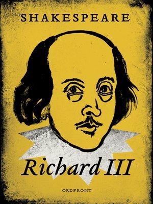 cover image of Rickard III