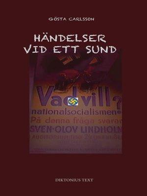 cover image of Händelser vid ett sund