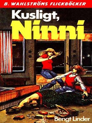 cover image of Ninni 3--Kusligt, Ninni