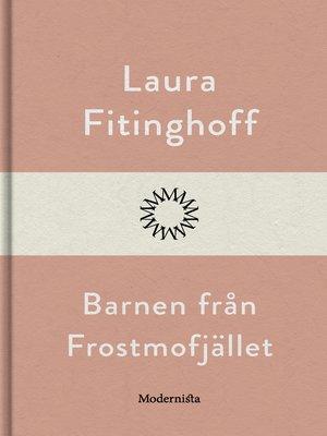 cover image of Barnen från Frostmofjället