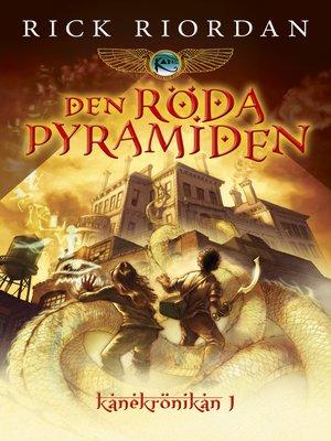 cover image of Den röda pyramiden