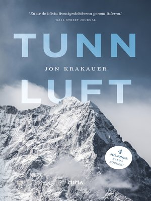 cover image of Tunn luft