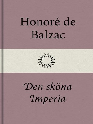 cover image of Den sköna Imperia
