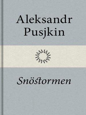 cover image of Snöstormen