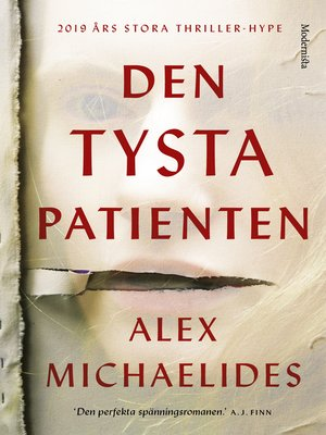 cover image of Den tysta patienten