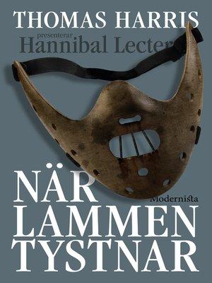 cover image of När lammen tystnar