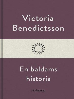 cover image of En baldams historia