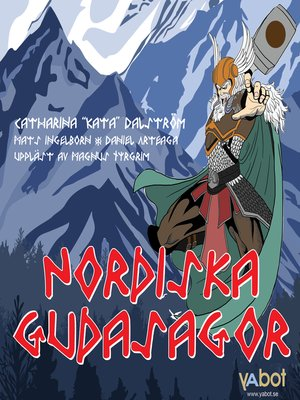 cover image of Nordiska gudasagor