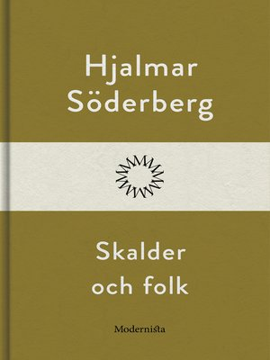 cover image of Skalder och folk