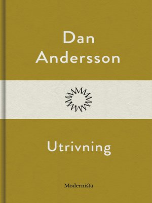 cover image of Utrivning
