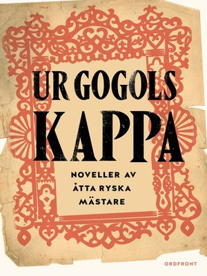 cover image of Ur Gogols kappa