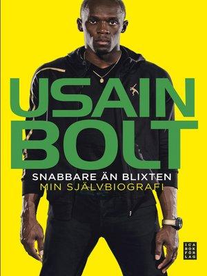 cover image of Snabbare än blixten – Min självbiografi