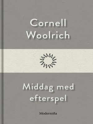 cover image of Middag med efterspel