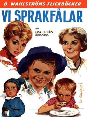 cover image of Fröken Sprakfåle 28--Vi Sprakfålar