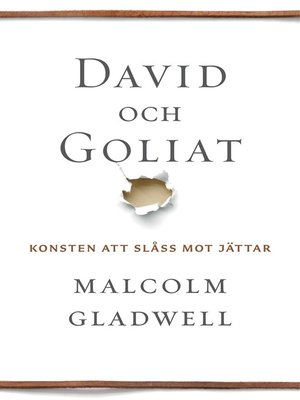 cover image of David och Goliat