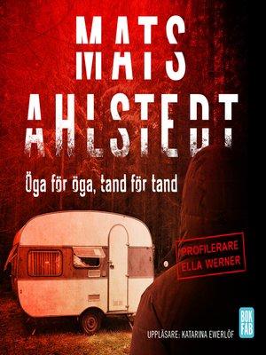 cover image of Öga för öga, tand för tand