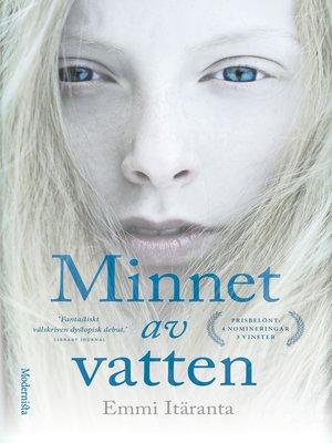 cover image of Minnet av vatten