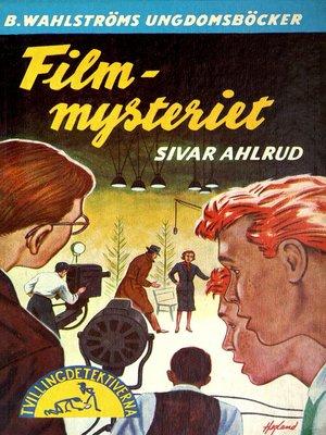 cover image of Tvillingdetektiverna 23--Film-mysteriet