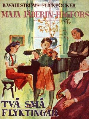 cover image of Två små flyktingar