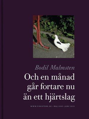 cover image of Och en månad går fortare nu än ett hjärtslag