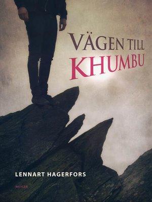 cover image of Vägen till Khumbu