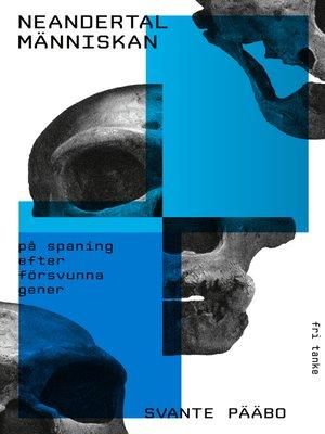 cover image of Neandertalmänniskan