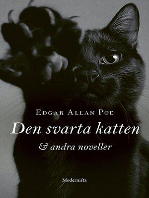 cover image of Den svarta katten och andra noveller