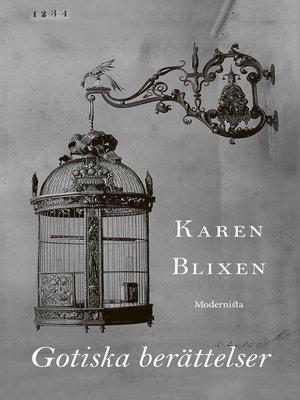 cover image of Gotiska berättelser