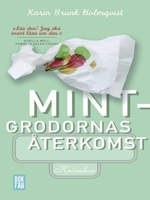 cover image of Mintgrodornas återkomst