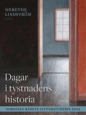 cover image of Dagar i tystnadens historia
