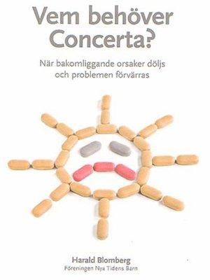 cover image of Vem behöver Concerta?