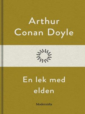 cover image of En lek med elden