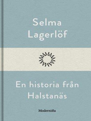 cover image of En historia från Halstanäs