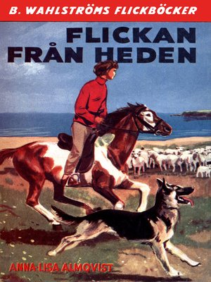 cover image of Flickan från heden
