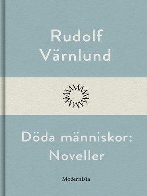cover image of Döda människor