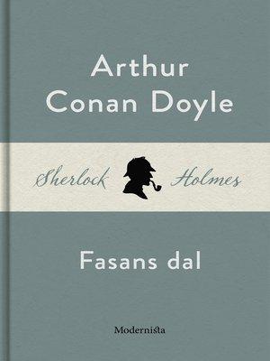 cover image of Fasans dal (En Sherlock Holmes-roman)