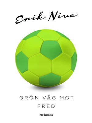 cover image of Grön väg mot fred