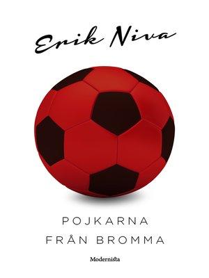 cover image of Pojkarna från Bromma