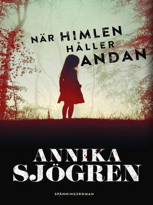 cover image of När himlen håller andan