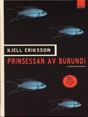 cover image of Prinsessan av Burundi