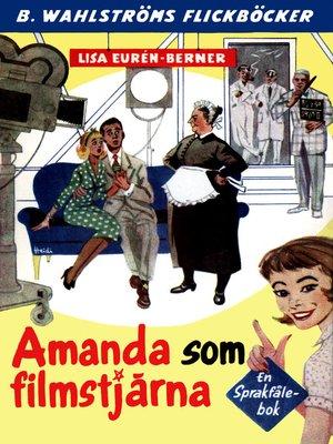 cover image of Fröken Språkfåle 22--Amanda som filmstjärna