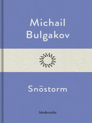 cover image of Snöstorm