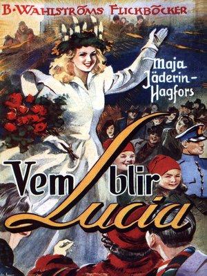 cover image of Vem blir Lucia?