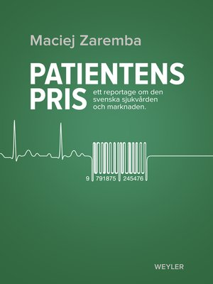 cover image of Patientens pris