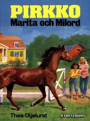 cover image of Pirkko 23--Pirkko, Marita och Milord