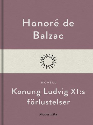 cover image of Konung Ludvig XI