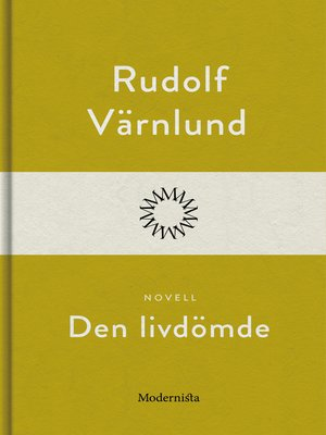 cover image of Den livdömde
