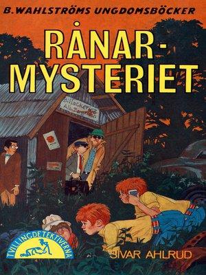 cover image of Tvillingdetektiverna 37--Rånar-mysteriet