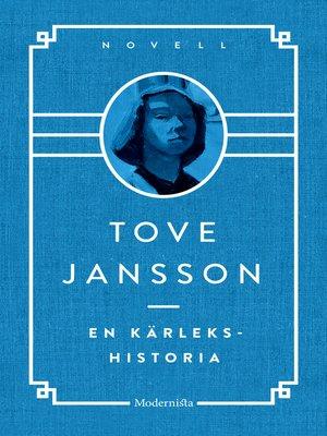 cover image of En kärlekshistoria